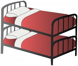 Clipart - Bunk bed