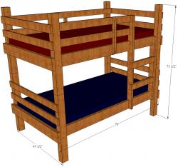 Bunk Bed Plans | Clipart Panda - Free Clipart Images