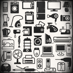 Household Appliances Clipart Appliance Clip Art Home Electrical ...