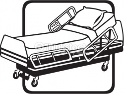 Hospital Bed Silhouette at GetDrawings.com | Free for personal use ...