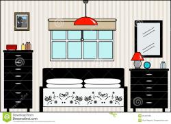 Master Bedroom Clipart