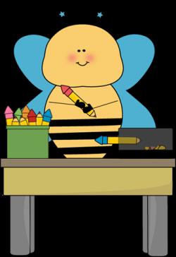 Bee Pencil Monitor Clip Art - Bee Pencil Monitor Vector Image | Clip ...