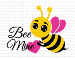 Bee mine svg file | Etsy
