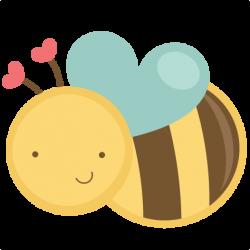 Flying Valentine Bee SVG bundle for scrapbooking cardmaking ...