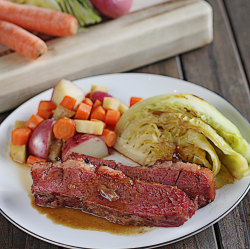 Guinness Corned Beef with Cabbage - The Hopeless Housewife® - The ...