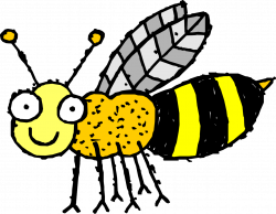 Bee clipart 4 free bee clip art drawings and colorful clipartcow ...