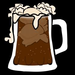 Clipart - Root Beer Float