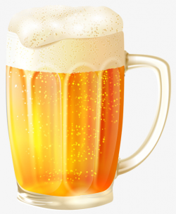 Yellow Beer Cup, Yellow, Beer Cup, Beer PNG Image and Clipart for ...