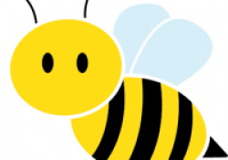 bee images clip art black and yellow honey bee clip art at clker ...