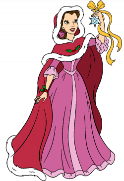 Beauty and the Beast Christmas Clip Art   Disney Clip Art Galore