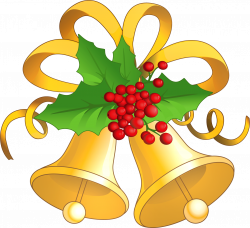 Christmas Bells Clip Art | Gold Clipart Gallery · free clipart ...