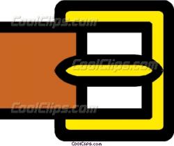 Belt buckles Vector Clip art