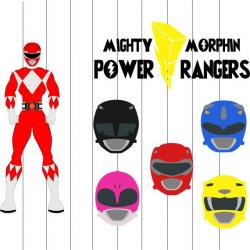 Power Rangers Svg Clipart png eps files Power rangers Cut