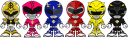 Chibi Mighty Morphing Power Rangers Movie Edition by Zeltrax987 on ...