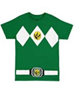 Amazon.com: Power Rangers Logo Ranger Diamonds Adult Seatbelt Belt ...
