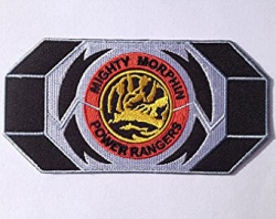 Red Ranger Morpher Patch Embroidered Iron / Sew on Badge