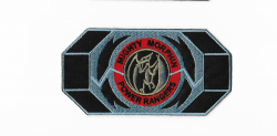Pink Power Ranger Morpher Patch 5.5 Embroidered Iron on