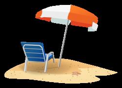 Clipart - Beach Scene