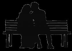 Similiar Silhouette Sitting On Bench Cartoon Keywords | clip art ...