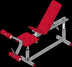 Exercise Bench Clip Art at Clker.com - vector clip art online ...