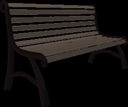 Clipart - Park bench