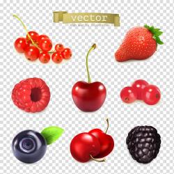 Juice Berry Fruit Illustration, Cartoon fresh berries ...