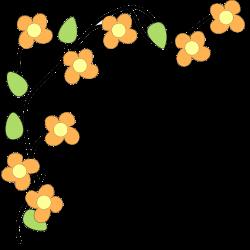 Flower Border Clipart - Clipart Kid | FLOWERS | Pinterest | Fun ...