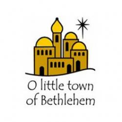 silhouette of bethlehem town | 984 - O Little Town Of Bethlehem-O ...