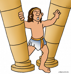 Samson | Philip Martin | Free Bible Clipart | Clipart | Pinterest ...