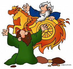 elijah and the fiery chariot clip art - Google Search | Elijah ...