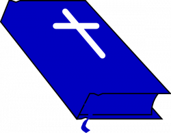 Blue Bible Clip Art at Clker.com - vector clip art online, royalty ...