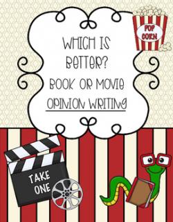 Book Vs Movie Teaching Resources | Teachers Pay Teachers