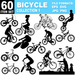 Bicycle Clipart Collection Cycling Images Eps Ai Svg Vectors Png Jpg ...