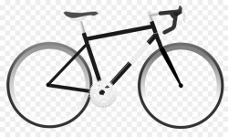 Racing bicycle Cycling Clip art - Bicycling Cliparts png download ...