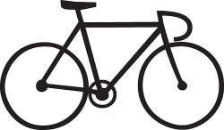 28+ Collection of Bike Simple Drawing   High quality, free cliparts ...