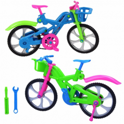 3D DIY Puzzle Assembly Simulation Bike Children Intelligence ...