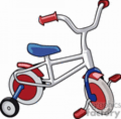 Royalty-Free Bike with Training Wheels 171132 vector clip art image ...