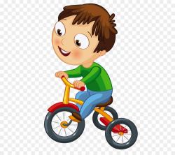T-shirt Tricycle Bicycle Clip art - kids cartoon png download - 556 ...