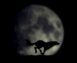 Wolfman gif animations, moving clip art images of Werewolves and Big ...