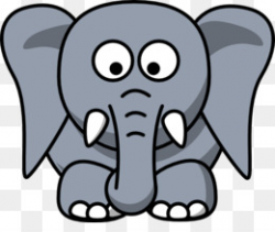 Free download African elephant Indian elephant Mouse Clip art - Big ...