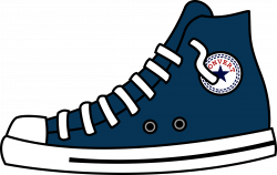 Clipart - High Top shoes