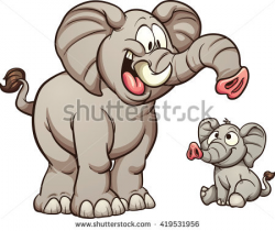 Big clipart contrast clipart big and small pencil and in color ...