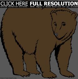 big brown bear) | Clipart Panda - Free Clipart Images