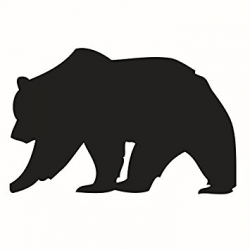 Brown Bear Silhouette at GetDrawings.com | Free for personal use ...