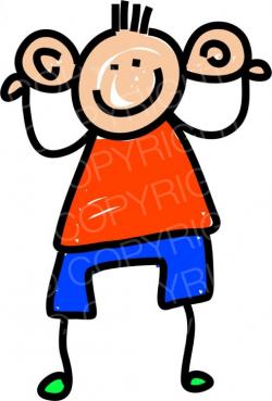 Toddler Art Big Ears Boy Prawny Clipart – Prawny Clipart Cartoons ...