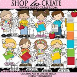 Little Germ Busters With Lineart Pro | Clipart | Pinterest