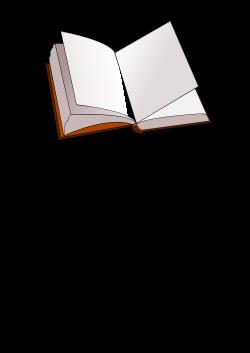 Clipart - open book