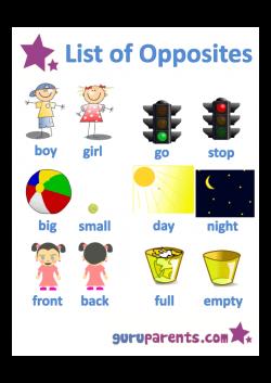 Opposites - Preschool: Use this range of opposites worksheets to ...