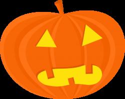 Clipart - halloween pumpkins