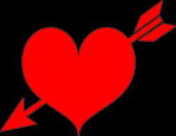 Clipart - Red Heart Arrow